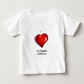 I Love Los Angeles California Baby T-Shirt
