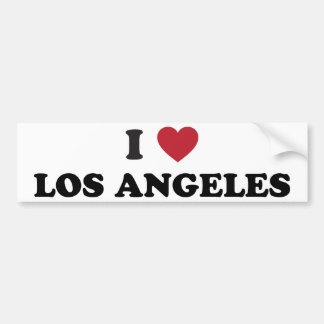 I Love Los Angeles Car Bumper Sticker