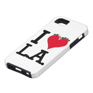 I LOVE LOS ANGELES iPhone 5 CASE