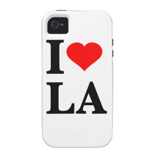I Love Los Angeles iPhone 4/4S Cover