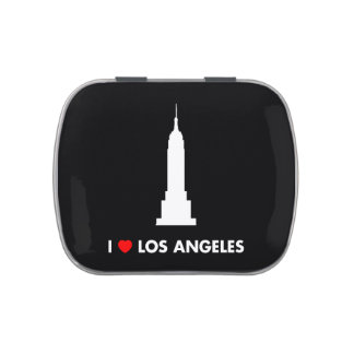 I Love Los Angeles - Empire State Building Jelly Belly Candy Tin