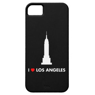 I Love Los Angeles - Empire State Building iPhone 5 Case