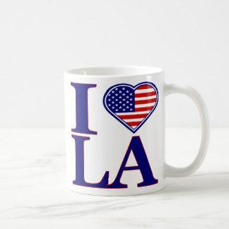 I Love Los Angeles Forth Of July Edition Mug