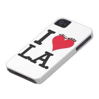 I LOVE LOS ANGELES Case-Mate iPhone 4 CARCASA