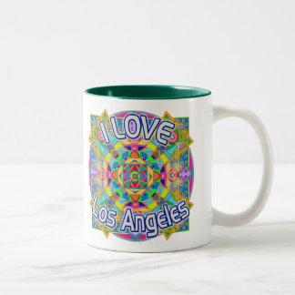 I LOVE Los Angeles Happy Mug
