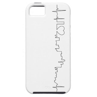 I love Los Angeles in an extraordinary ecg style iPhone 5 Covers