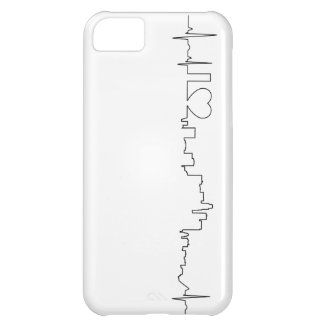 I love Los Angeles in an extraordinary ecg style iPhone 5C Covers