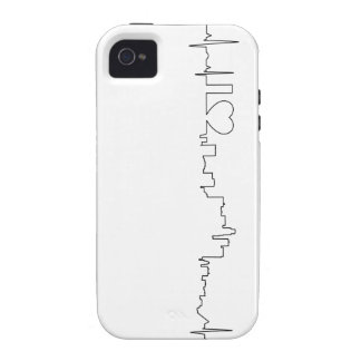 I love Los Angeles in an extraordinary ecg style Vibe iPhone 4 Cover