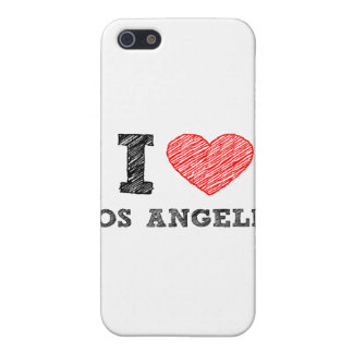 I Love Los Angeles iPhone 5 Cases