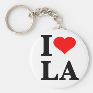 I Love Los Angeles Keychain