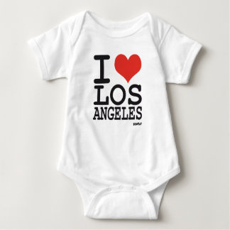 I love Los Angeles - LA Baby Bodysuit