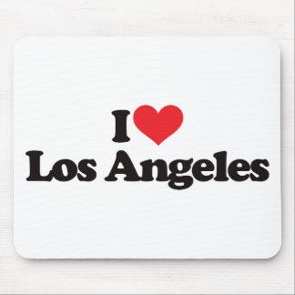 I Love Los Angeles Mouse Mats