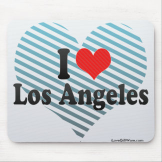 I Love Los Angeles Mouse Pad