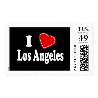 I Love Los Angeles Stamps