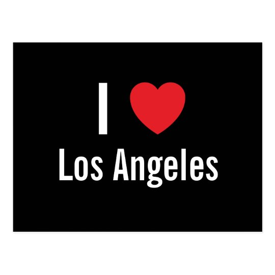 I love Los Angeles Postcard