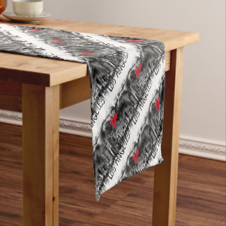 I love Los Angeles Short Table Runner