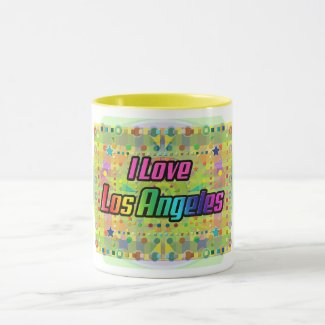 I Love Los Angeles Smile Bright Mug