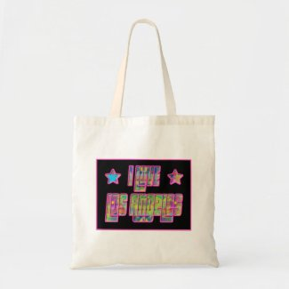 I Love Los Angeles Smile Drama Bag
