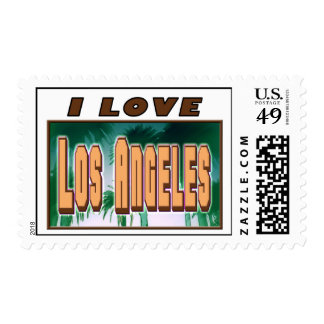 I LOVE Los Angeles Special Stamp#1! Postage