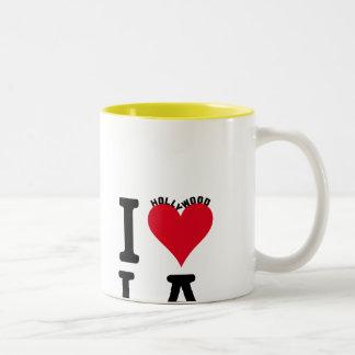 I LOVE LOS ANGELES Two-Tone COFFEE MUG