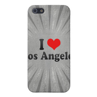 I Love Los Angeles, United States iPhone 5 Case