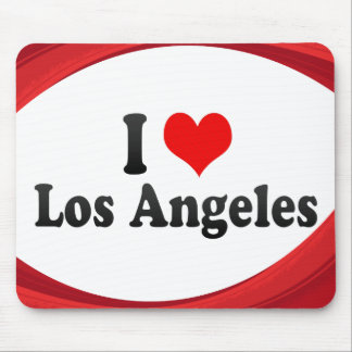 I Love Los Angeles, United States Mouse Pads