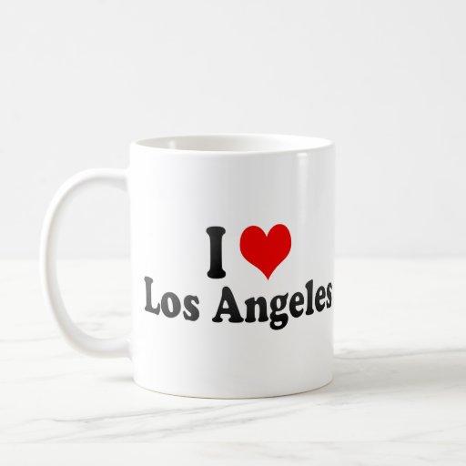 I Love Los Angeles, United States Classic White Coffee Mug