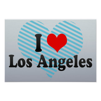 I Love Los Angeles, United States Posters