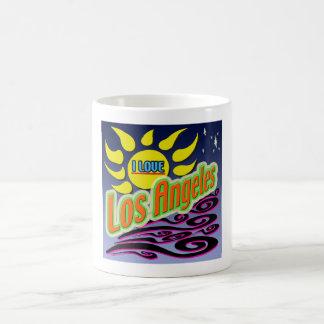 """I LOVE Los Angles: Night Sunshine"" Mug"