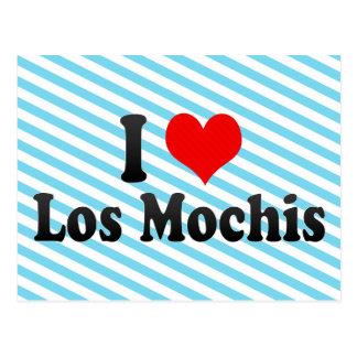 I Love Los Mochis, Mexico Postcard