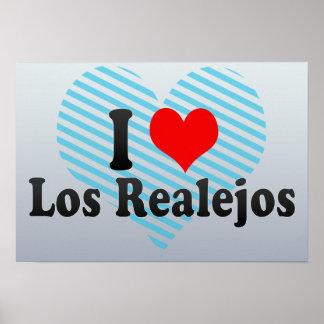 I Love Los Realejos, Spain Poster