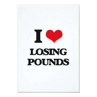 I Love Losing Pounds Custom Invite