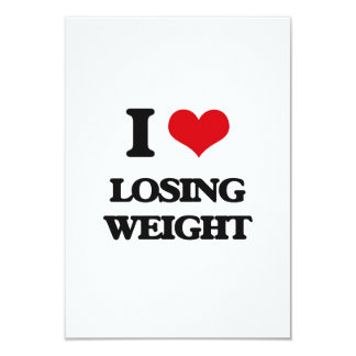 I Love Losing Weight Personalized Invitations