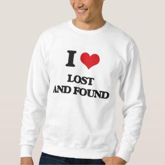 I Love Lost And Found Sweatshirt