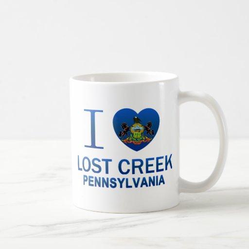 I Love Lost Creek, PA Coffee Mugs