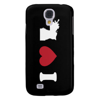 I Love Louisiana Samsung Galaxy S4 Cases