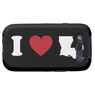 I Love Louisiana Samsung Galaxy S3 Cases
