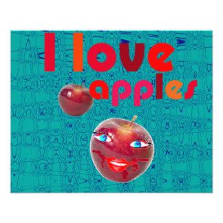 I love love apples flyer