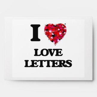 I love Love Letters Envelope