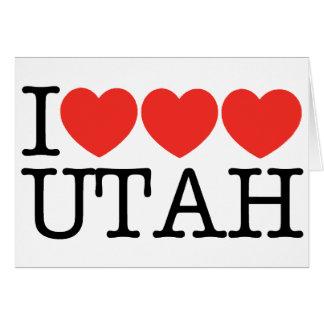 I Love Love Love UTAH! Card