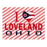 I love Loveland, Ohio Postcard