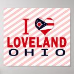 I love Loveland, Ohio Posters