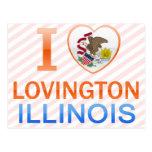 I Love Lovington, IL Post Card