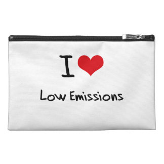 I love Low Emissions Travel Accessories Bag