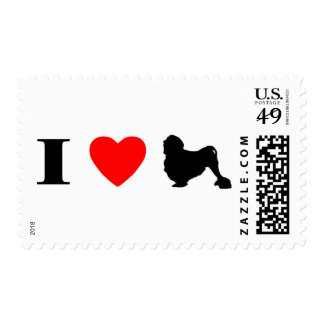 I Love Lowchens Stamps