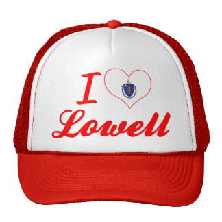 I Love Lowell, Massachusetts Trucker Hat