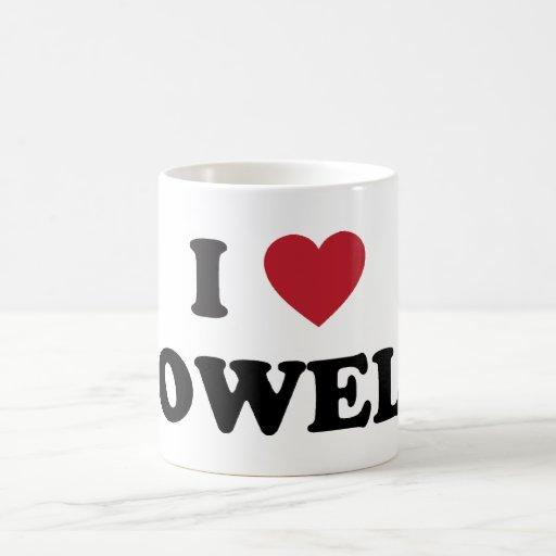I Love Lowell Massachusetts Classic White Coffee Mug