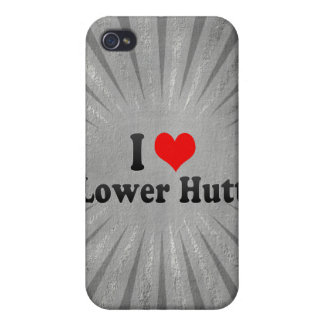 I Love Lower Hutt, New Zealand Case For iPhone 4