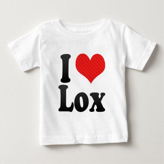 I Love Lox Baby T-Shirt