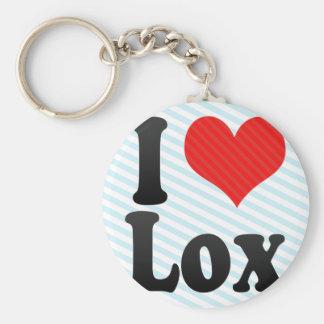 I Love Lox Keychains